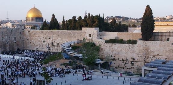 ירושלים הכותל המזרחי כיפת הזהב / צילום: אריאל ירוזלימסקי